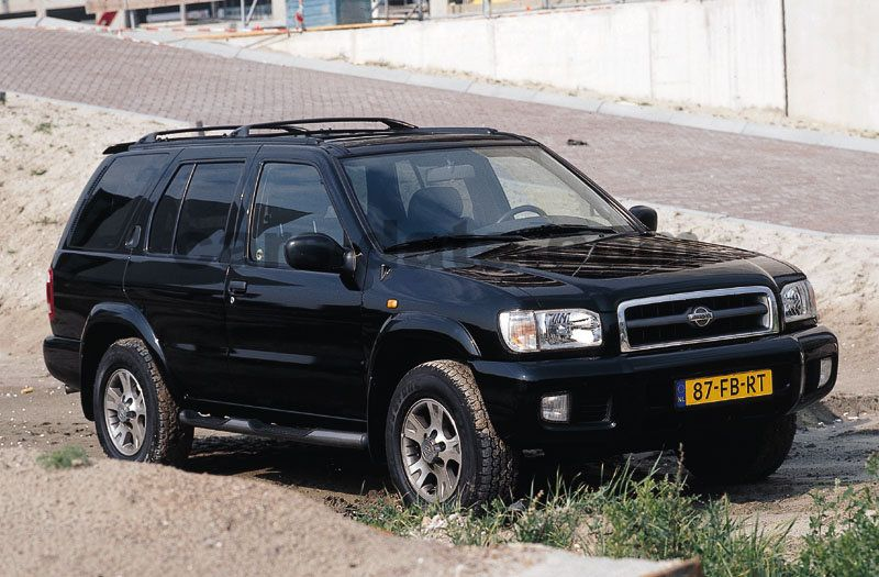 nissan pathfinder 3 3 v6 automatic 5 door specs cars data com nissan pathfinder 3 3 v6 automatic 5