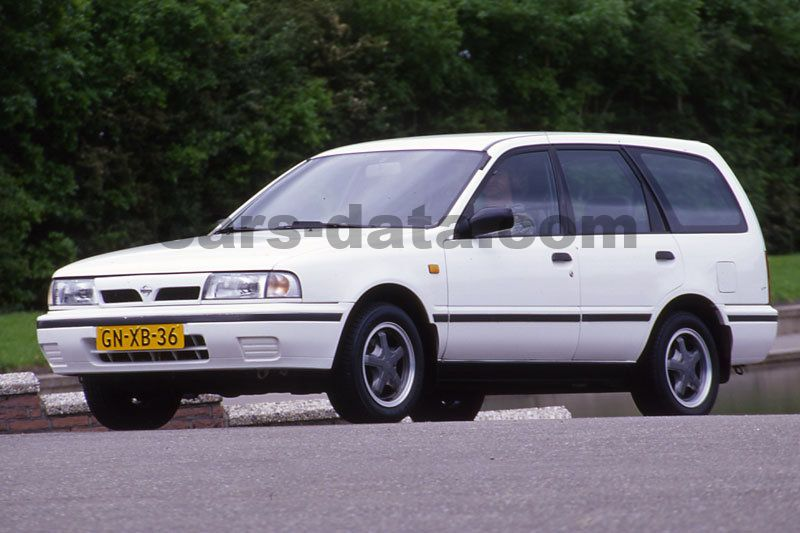nissan sunny wagon 1 6 lx manual 1991 1993 90 hp 5 doors technical specifications. Black Bedroom Furniture Sets. Home Design Ideas