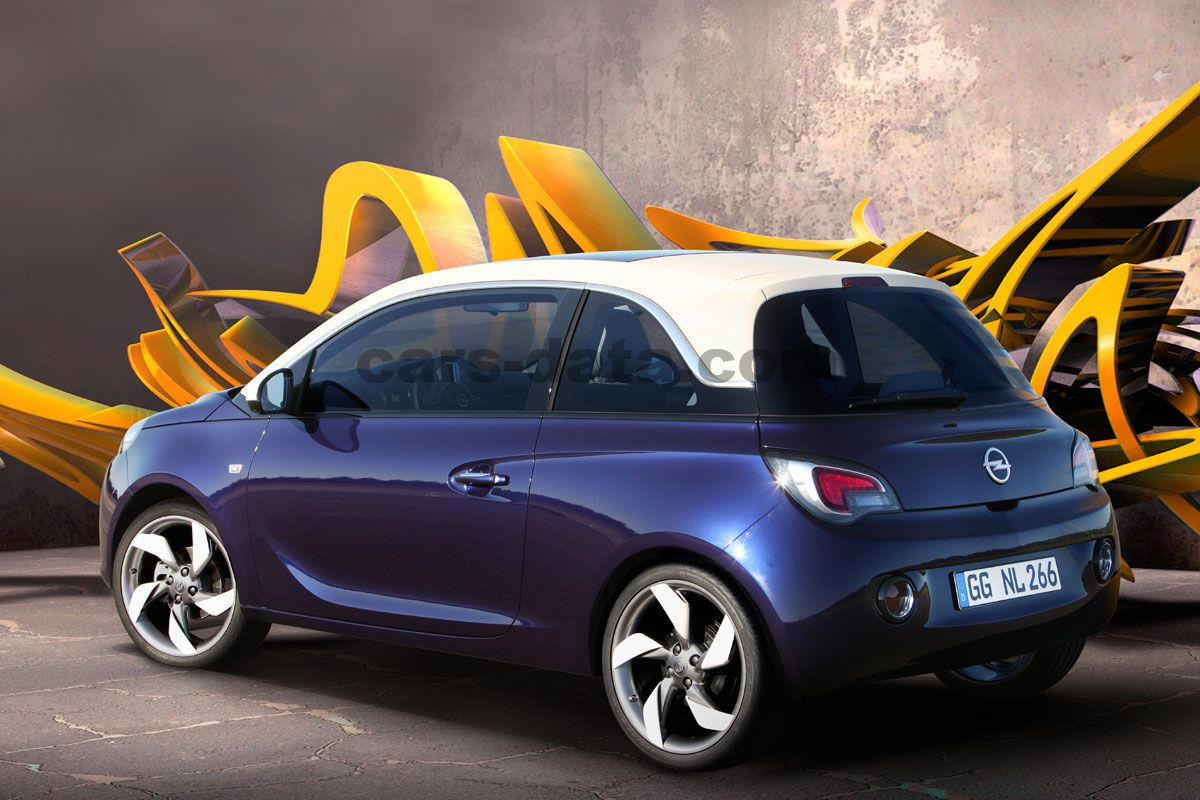 opel adam 2013 bilder opel adam 2013 bildern 12 von 26. Black Bedroom Furniture Sets. Home Design Ideas