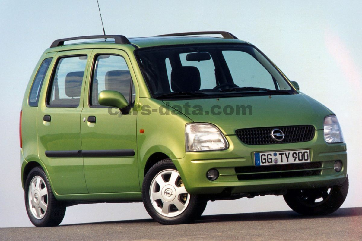 Opel Agila 1 2 16v Color Edition Manual 2001 2002 75
