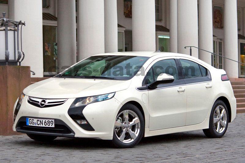 Opel Ampera 5 Door Specs Cars Data