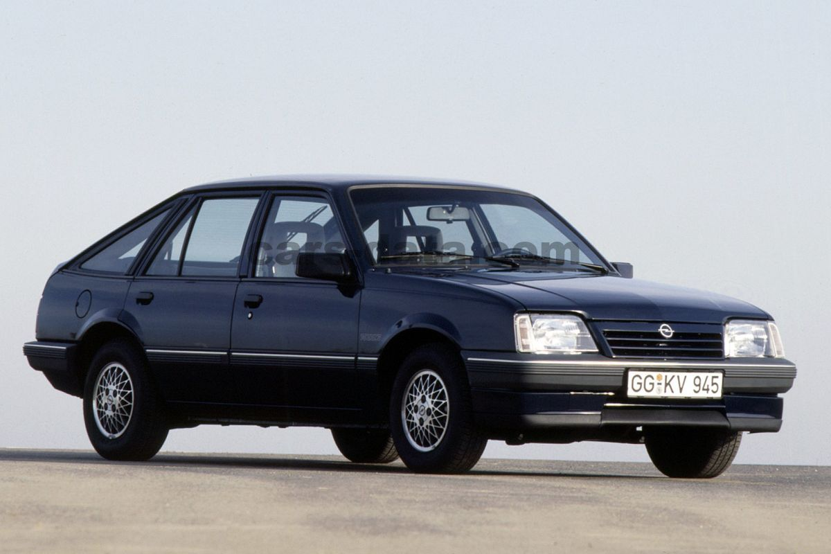 opel ascona 1 8 s cd manual 1987 1988 84 hp 5 doors technical specifications. Black Bedroom Furniture Sets. Home Design Ideas