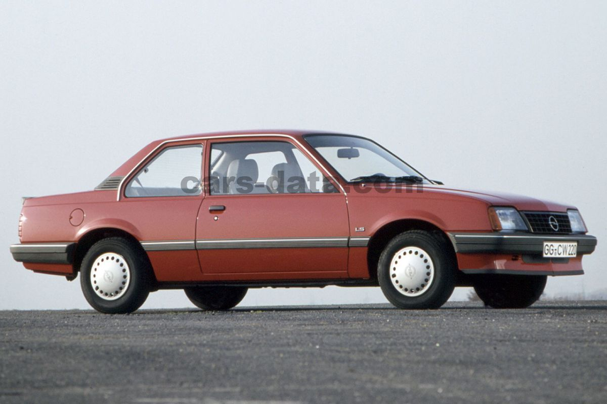 opel ascona gl manual 1984 1986 115 hp 2 doors technical specifications. Black Bedroom Furniture Sets. Home Design Ideas