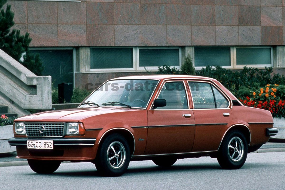 Opel Ascona 1975 Pictures Opel Ascona 1975 Images 1 Of 10