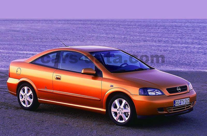 Opel Astra Coupe 1 8i-16v  Manual  2000