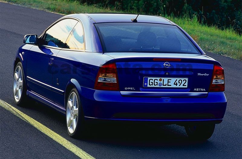 Opel Astra Coupe 2000 Pictures 5 Of 7 Cars Data