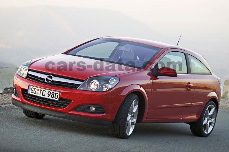 Opel Astra Gtc 16 Enjoy Semi Automatic 3 Door Specs Cars Data