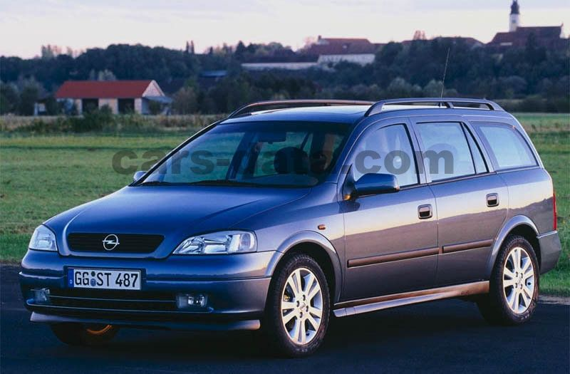 Opel Astra Stationwagon 1998 pictures (1 of 10) | cars ...