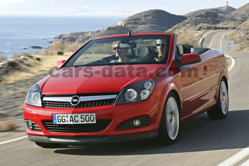 Opel Astra Twintop 2007 Pictures 13 Of 17 Cars Data