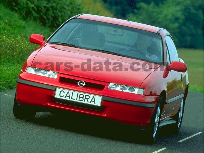 Opel Calibra Slike