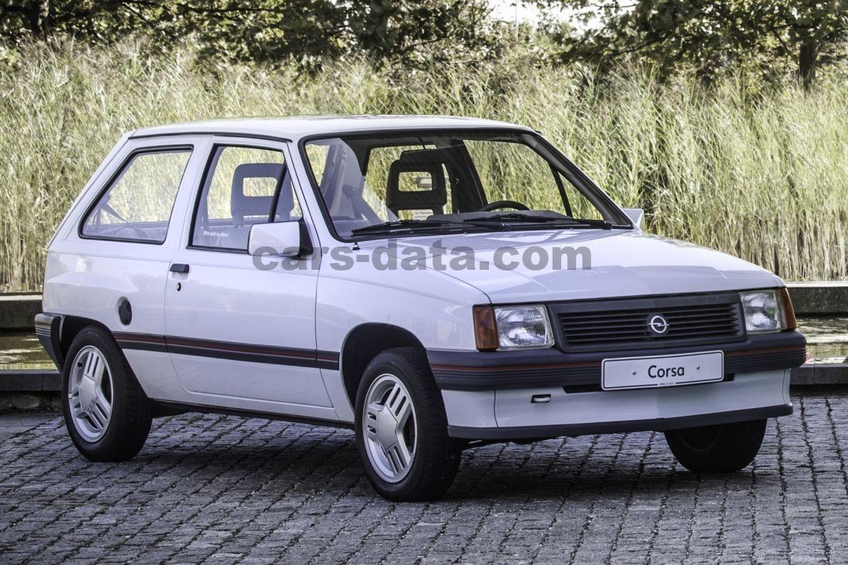 opel corsa swing manual 1987 1989 60 hp 3 doors. Black Bedroom Furniture Sets. Home Design Ideas