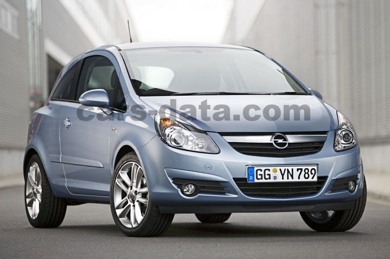 opel corsa 1 2 16v edition manual 2009 2010 80 hp 3 doors technical specifications. Black Bedroom Furniture Sets. Home Design Ideas