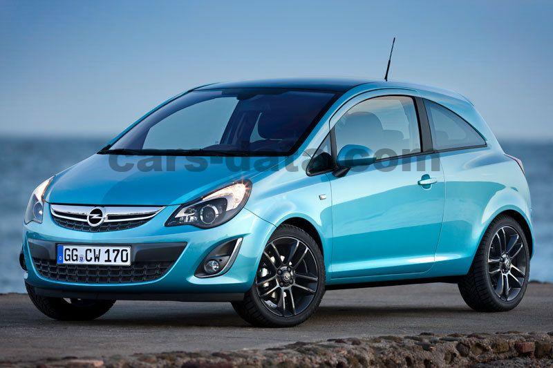 opel corsa 1 4 turbo start stop color edition manual 2012 2014 120 hp 3 doors technical. Black Bedroom Furniture Sets. Home Design Ideas