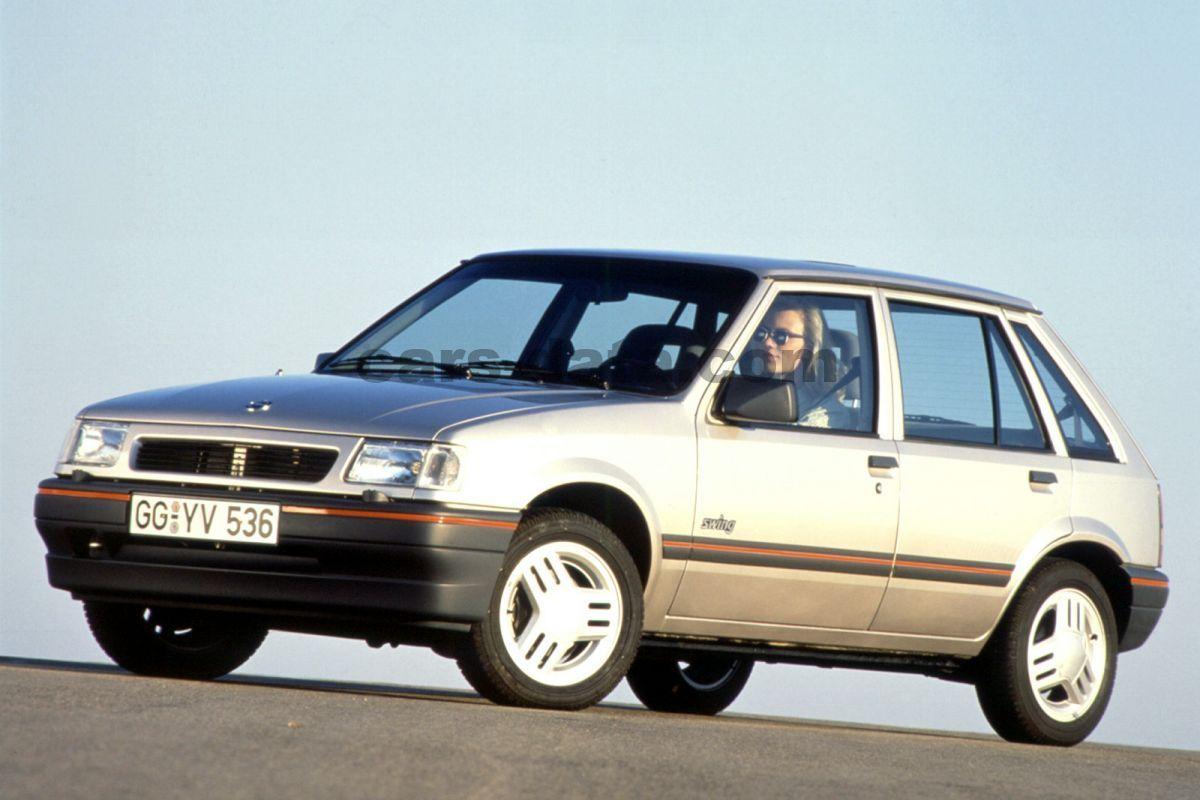opel corsa swing manual 1990 1993 60 hp 5 doors. Black Bedroom Furniture Sets. Home Design Ideas