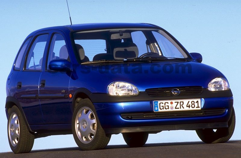opel corsa swing manual 1997 1998 60 hp 5 doors technical specifications. Black Bedroom Furniture Sets. Home Design Ideas