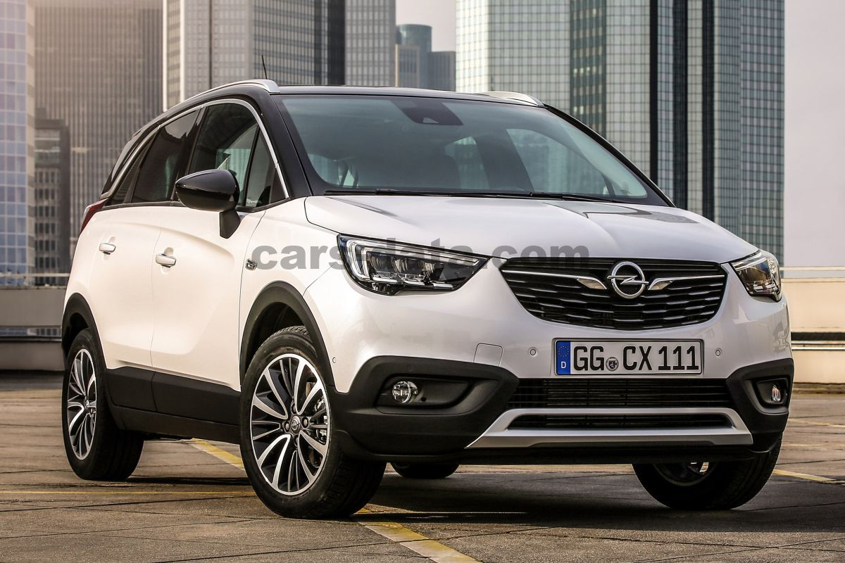 opel crossland x 1 2 innovation manual 2017 2018 81 hp 5 doors technical specifications. Black Bedroom Furniture Sets. Home Design Ideas