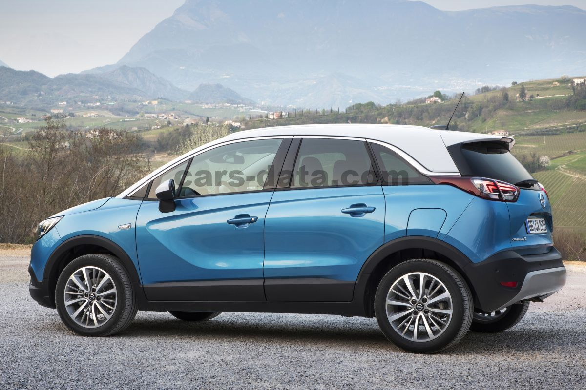 opel crossland x 2017 pictures 1 of 10 cars. Black Bedroom Furniture Sets. Home Design Ideas