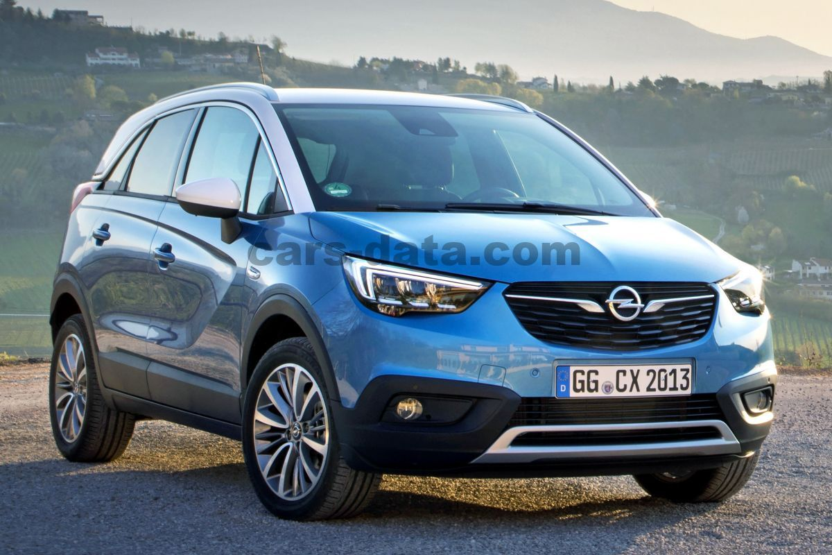 opel crossland x 2017 pictures 7 of 42 cars. Black Bedroom Furniture Sets. Home Design Ideas