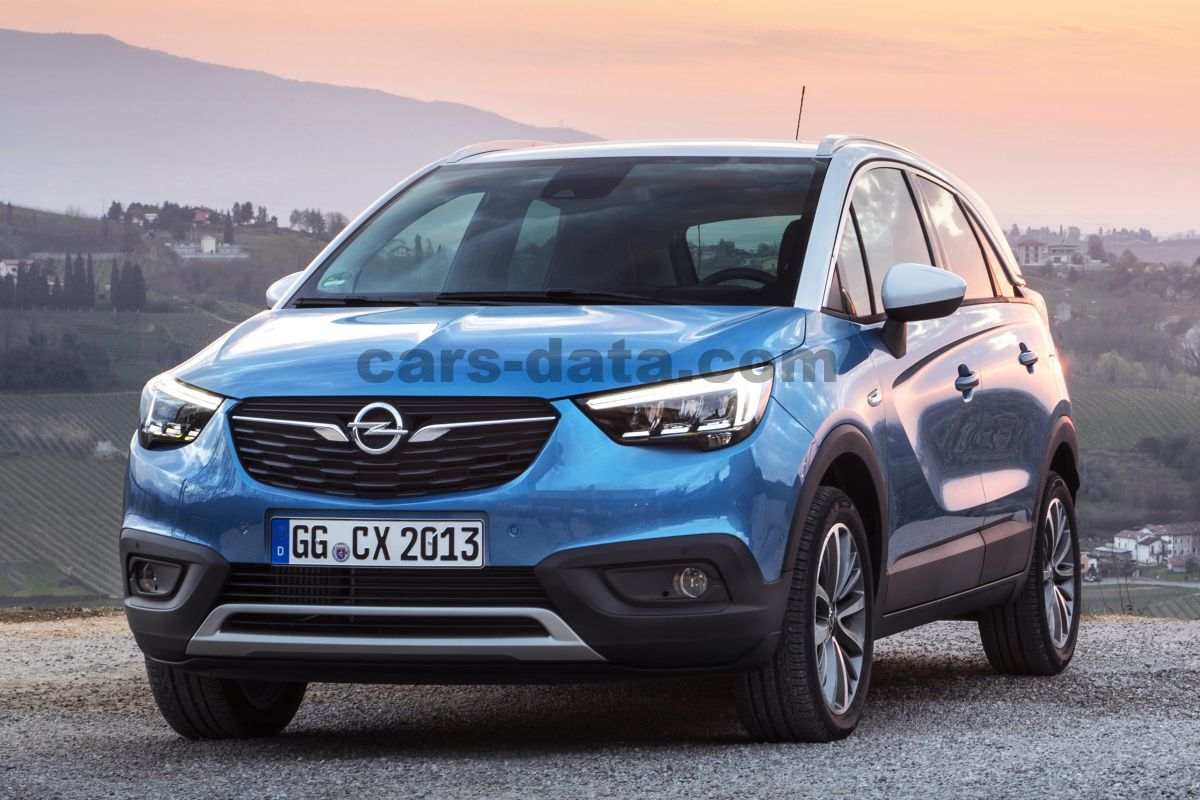opel crossland x 2017 pictures opel crossland x 2017 images 9 of 42. Black Bedroom Furniture Sets. Home Design Ideas