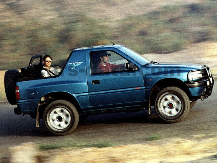 opel frontera sport 1995 pictures opel frontera sport 1995 images 3 of 4