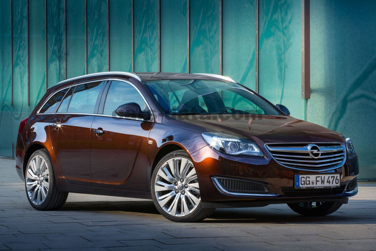 Opel Insignia Sports Tourer 1 6 Turbo Innovation Manual 5