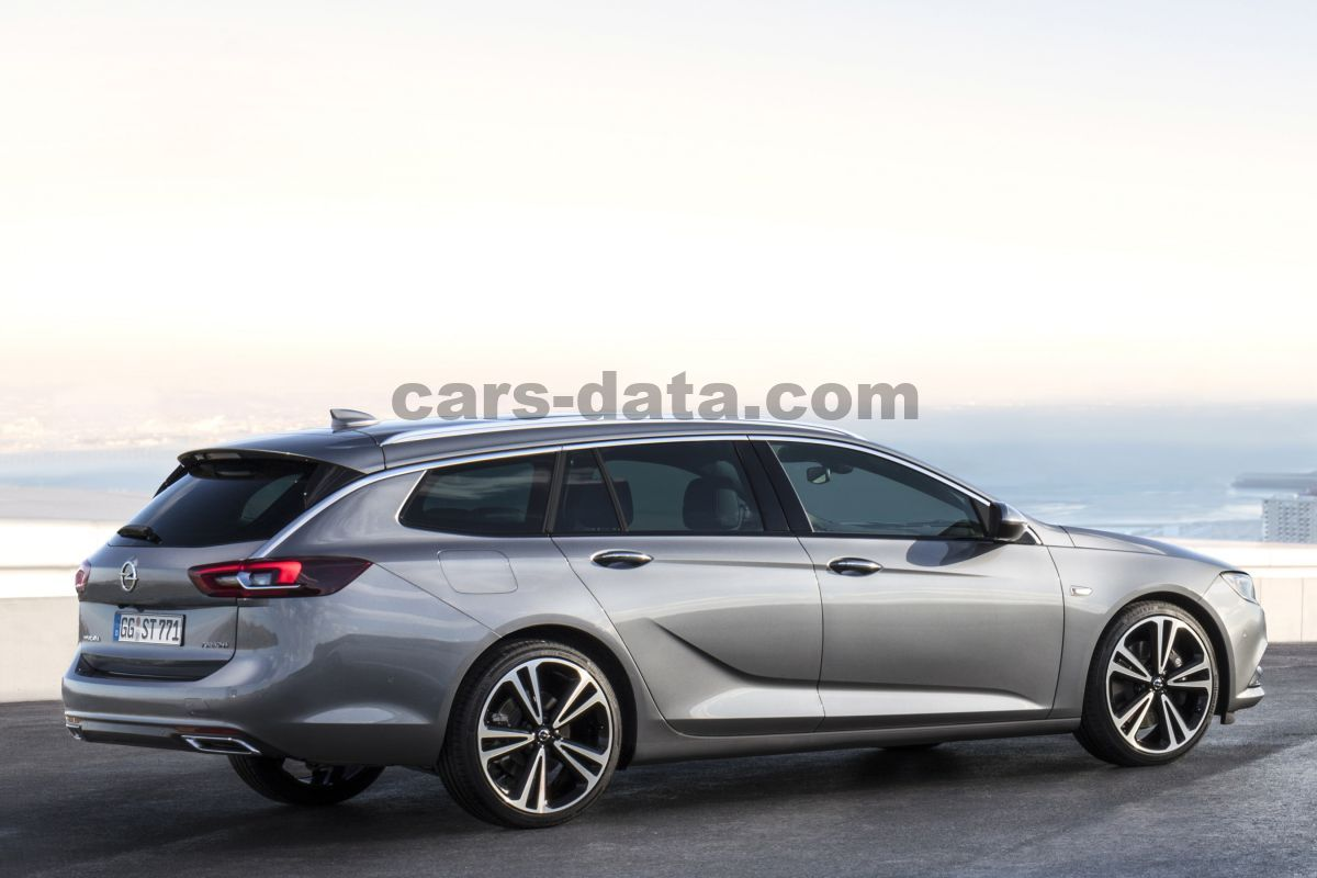 888006a42bb Opel Insignia Sports Tourer 2017 pictures (7 of 14) | cars-data.com