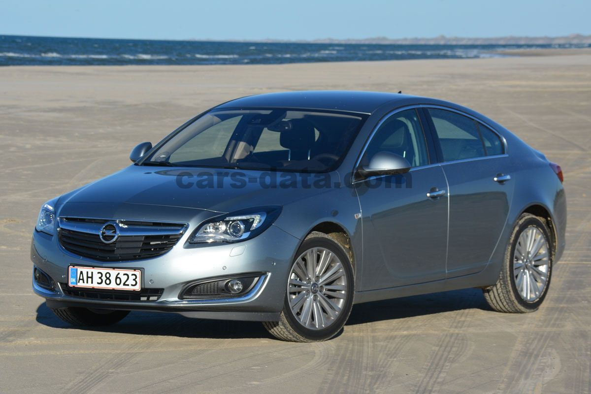 Opel Insignia 2.0 Turbo 250hp 4x4 Cosmo, Manual, 2013 - 2016, 250 Hp, 5 doors Technical ...