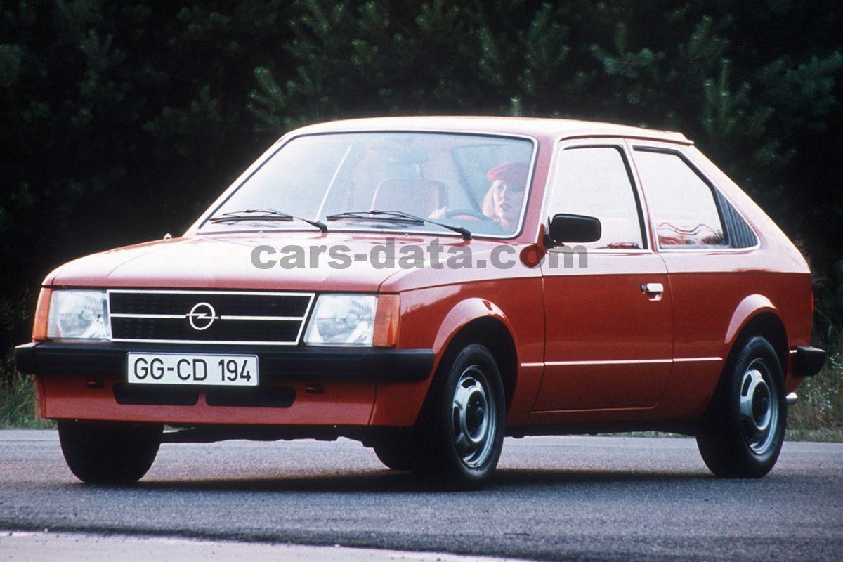 Opel Kadett 1 2 S De Luxe Manual 2 Doors Specs Cars Data Com