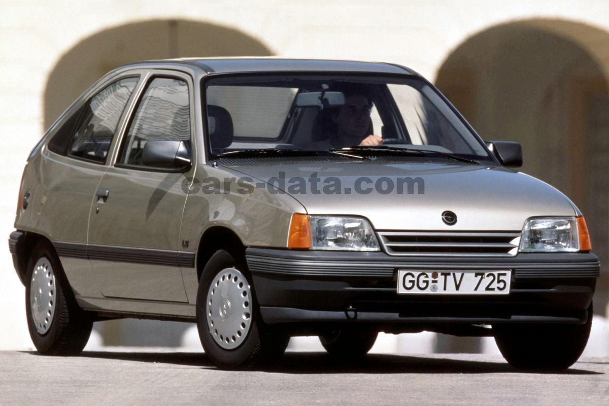 opel kadett 2 0 gsi manual 1989 1991 116 hp 3 doors technical specifications. Black Bedroom Furniture Sets. Home Design Ideas