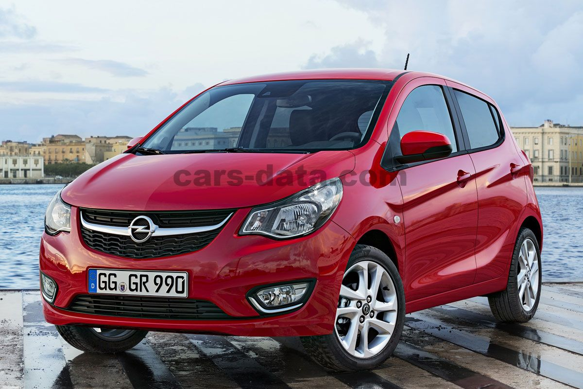 opel karl 1 0 edition manual 2015 present 75 hp 5 doors technical specifications
