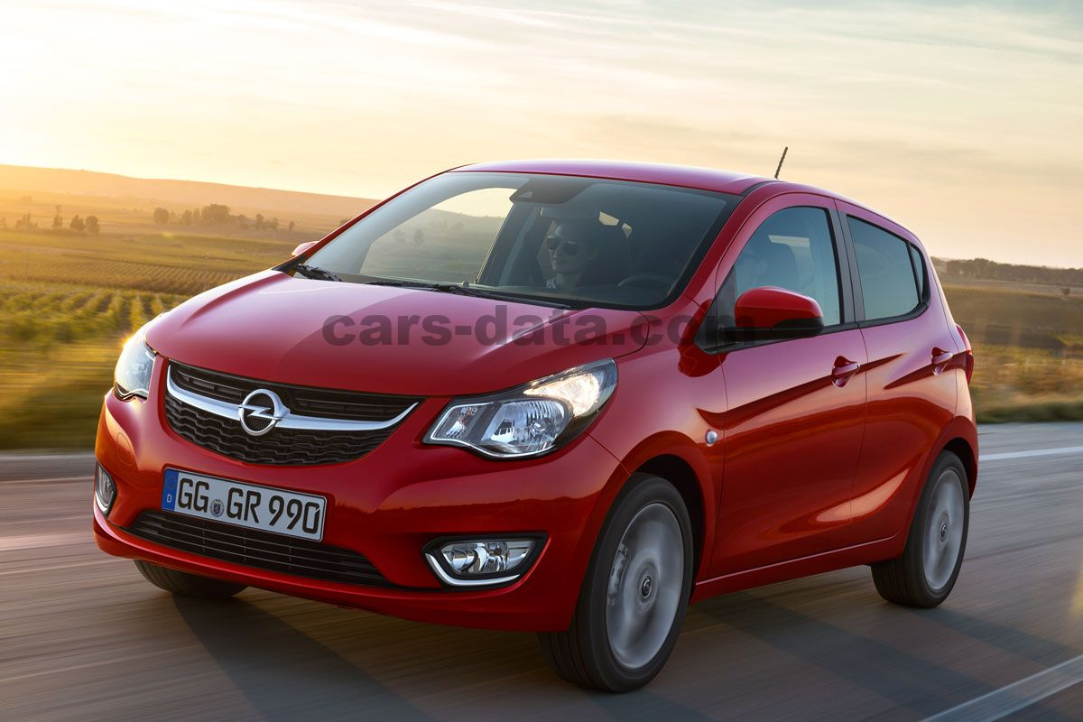 Toyota Company Latest Models >> Opel Karl 2015 pictures, Opel Karl 2015 images, (11 of 13)
