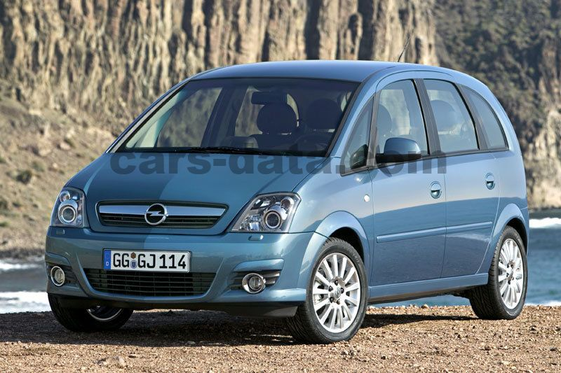 opel meriva 2005 pictures opel meriva 2005 images 13 of 14. Black Bedroom Furniture Sets. Home Design Ideas
