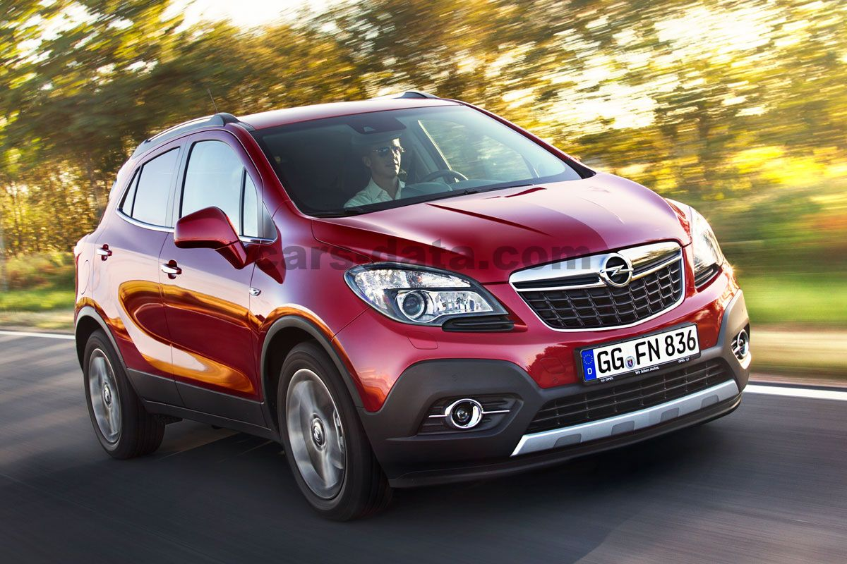 Opel Mokka 2012 Pictures 1 Of 10 Cars Data Com