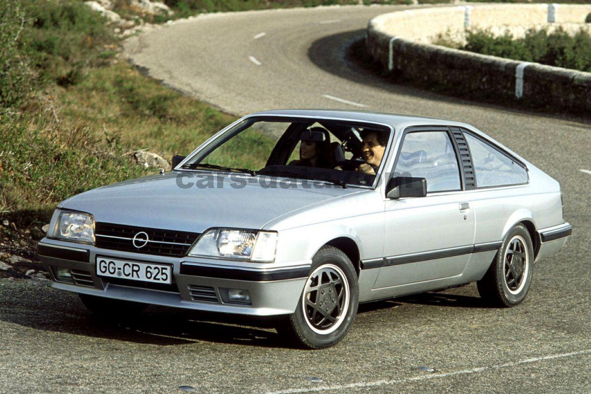Chrysler Hybrid Minivan >> Opel Monza 3.0i GSi, Manual, 1983 - 1987, 180 Hp, 3 doors Technical Specifications