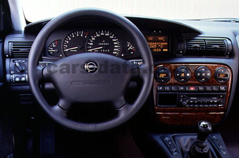 Japanese Car Brands >> Opel Omega 1994 pictures (4 of 4) | cars-data.com