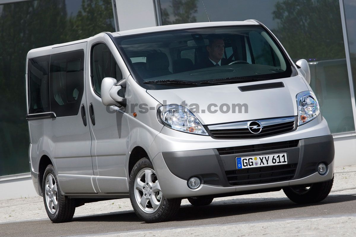 Opel Vivaro Combi L1h1 2900 2 0 Cdti 114 Ecoflex Semi Automatic 4 Door Specs Cars Data