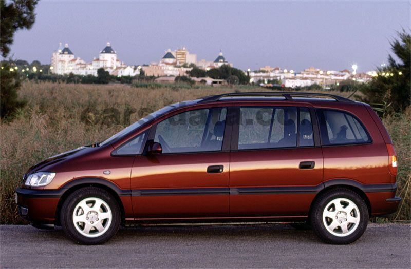 opel zafira 1999 pictures opel zafira 1999 images 5 of 11. Black Bedroom Furniture Sets. Home Design Ideas