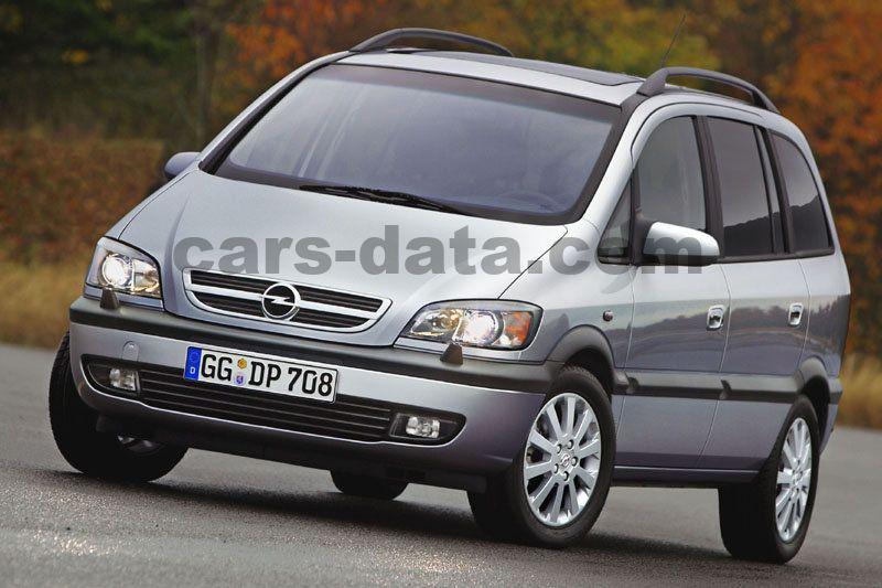 Opel Zafira 22 Dti 16v Elegance Manual 5 Door Specs Cars Data