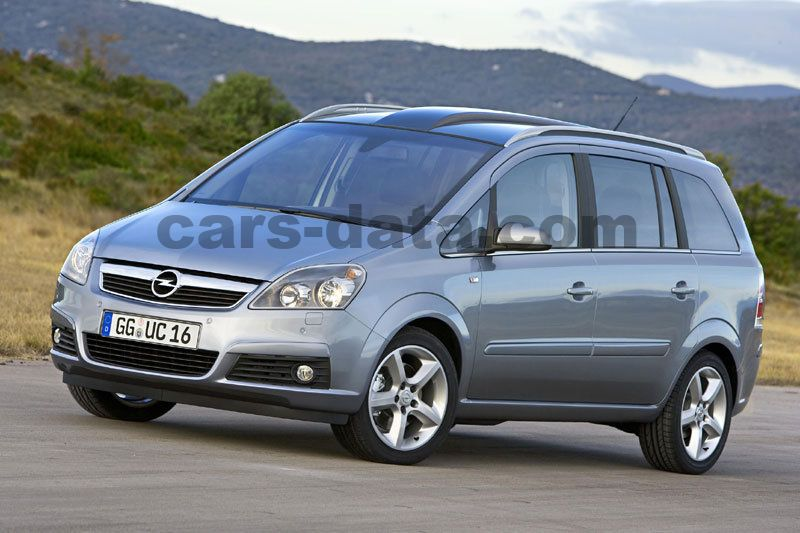 opel zafira 2005 pictures opel zafira 2005 images 1 of 13. Black Bedroom Furniture Sets. Home Design Ideas