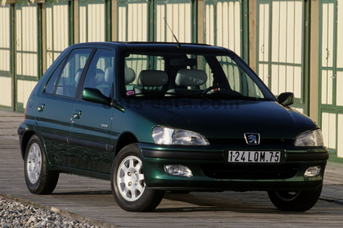 peugeot 106 xt 1 1 x manual 2002 2003 60 hp 5 doors technical specifications. Black Bedroom Furniture Sets. Home Design Ideas