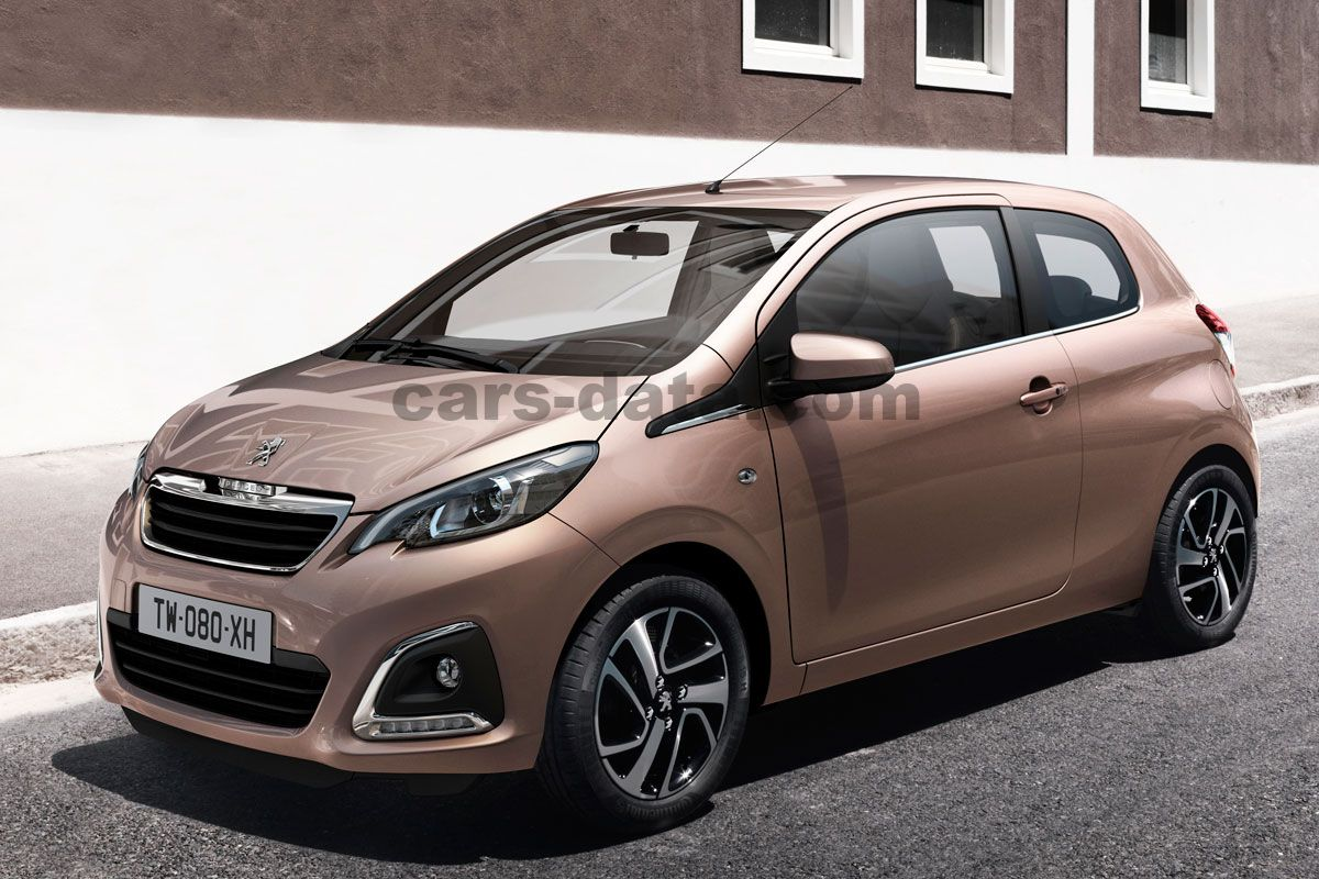 peugeot 108 allure 1 2 puretech manual 3 door specs cars. Black Bedroom Furniture Sets. Home Design Ideas