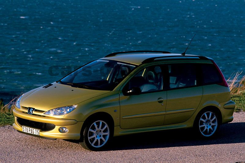 peugeot 206 sw xs 1 6 16v manual 2002 2005 110 hp 5 doors technical specifications. Black Bedroom Furniture Sets. Home Design Ideas