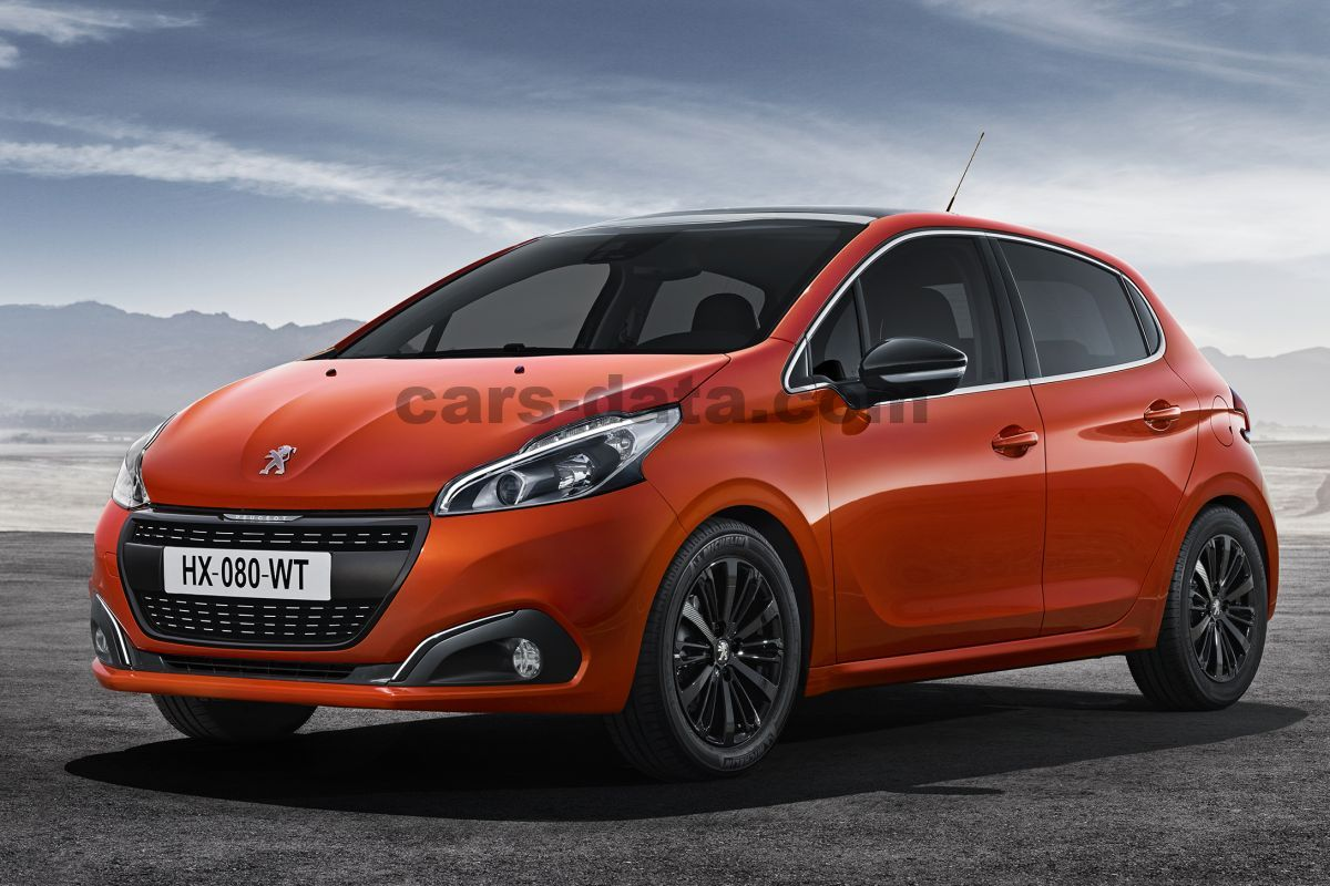 peugeot 208 active 1 2 puretech 82 manual 2015 present 82 hp 5 doors technical specifications. Black Bedroom Furniture Sets. Home Design Ideas