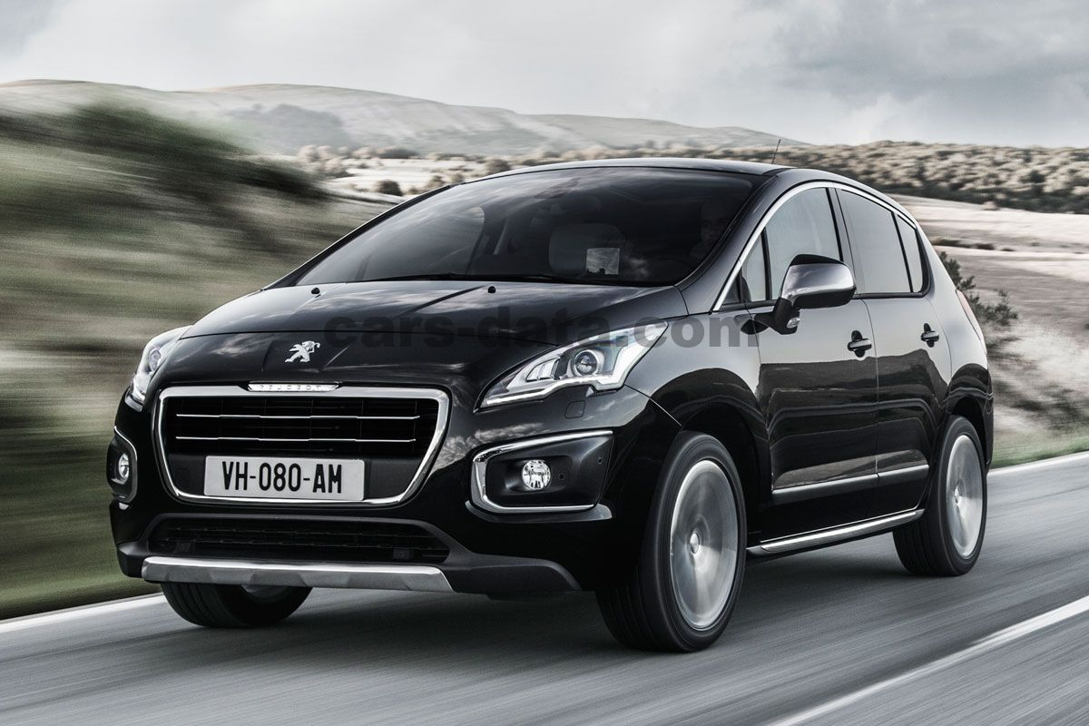Peugeot 3008 2013 pictures (1 of 10)   cars-data.com