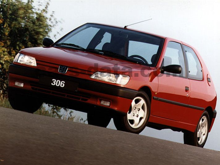 peugeot 306 s16 manual 1994 1996 155 hp 3 doors technical specifications. Black Bedroom Furniture Sets. Home Design Ideas