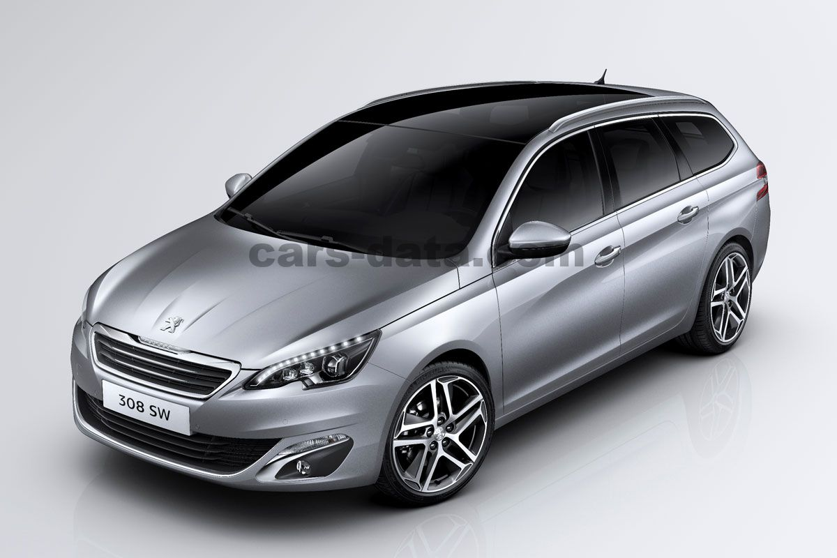 peugeot 308 sw 2014 pictures (23 of 28) | cars-data