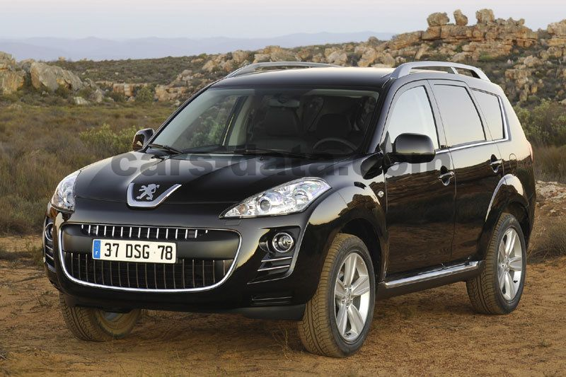 Peugeot 4007 Blue Lease 2.2 HDi sequential automatic 5 door specs | cars-data.com