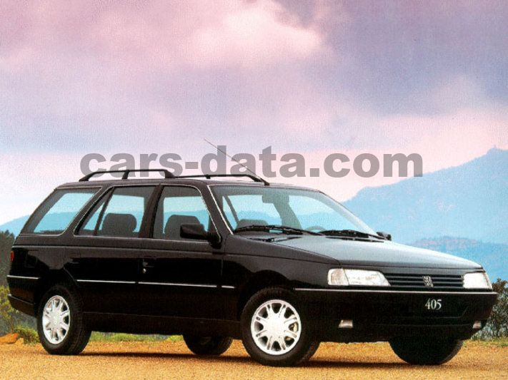 Peugeot 405 Break Fotos