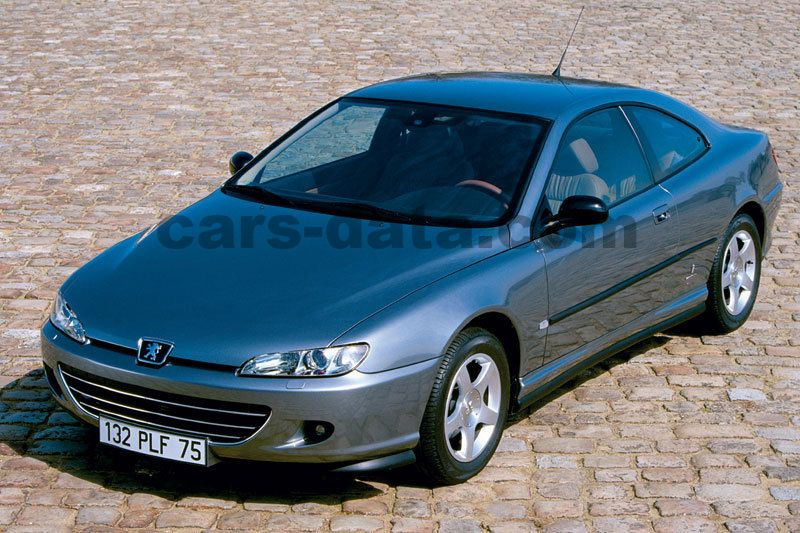 Peugeot 406 Coupe 2003 pictures, Peugeot 406 Coupe 2003 images, (4 of 9)