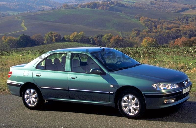Peugeot 406 2002 pictures (1 of 10) | cars-data.com